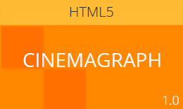 Cinemagraph – Modern Responsive HTML5/CSS3 Template