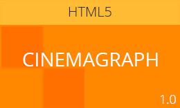 Cinemagraph – Modern Responsive HTML5/CSS3 Template