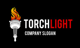 Torchlight Logo Template