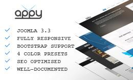 Appy - Multipurpose Responsive Joomla Template