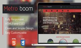 MetroBoom Premium Responsive Theme