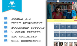 EduXpert - Responsive Joomla Education Template