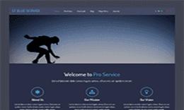T Blue Service – Responsive Service Joomla template