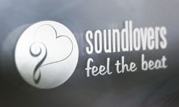 SoundLovers Logo Template