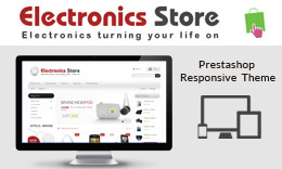 Electronics Store - PrestaShop Responsive Theme