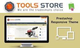 Tools Store - PrestaShop Responsive Theme