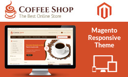 Coffee Shop - Magento Responsive Theme