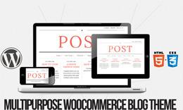 Post - A Multi-purpose WordPress Theme