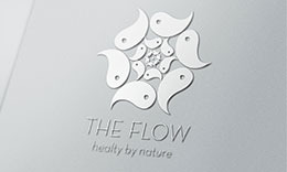 The Flow Logo Template