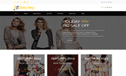 LT Clothes Shop – Responsive Online Shopping Cart, Clothes Shop Joomla template