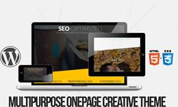 Vecto - Multipurpose, Onepage, Parallax Responsive HTML5/CSS3 WordPress Theme