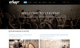 LT Event - Responsive Ohanah Event Joomla template