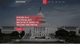 Donovan | Politic Parallax HTML Theme