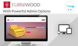 FurniWood - Responsive Opencart Theme