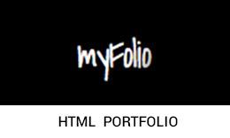 myFolio - Personal Portfolio Template
