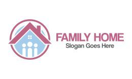 Family Home Logo Vol.1