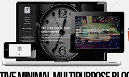 Retro - Parallax, Minimal, Creative Blog Theme