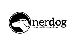 Nerd Dog Logo