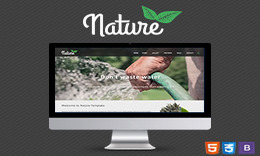 Nature HTML Template