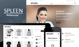 Spleen – Multipurpose Responsive One Page WordPress Theme