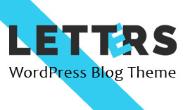Letters -WordPress Blog Theme