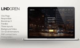 Lindgren HTML Template