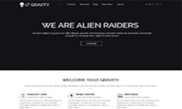 LT Gravity – Responsive Bysubess, Portfolio Joomla Template