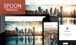Spoon – Multipurpose WordPress Theme