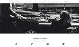 LT Social Company – Personal Community for Company Joomla template