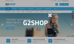 SJ G2Shop - Responsive JoomShopping eCommerce Joomla Theme