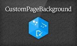 CustomPageBackground - Set Custom Background for Each Page