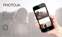 Photoja - One-Page Creative Portfolio