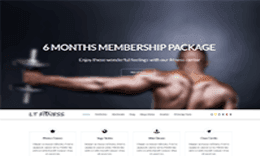 LT Fitness – Responsive Body Building / Fitness Joomla template