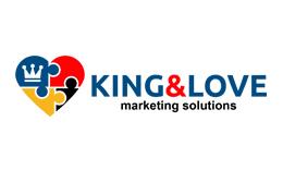 King & Love Logo