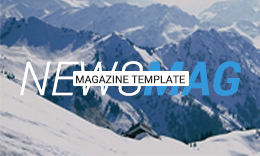 NewsMag - Ultimate Magazine Template