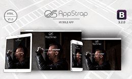 AppStrap - Responsive Mobile App Template