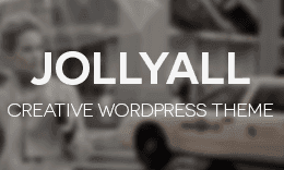 Jollyall Creative HTML5 Website Template