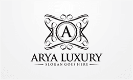 Arya Luxury Logo
