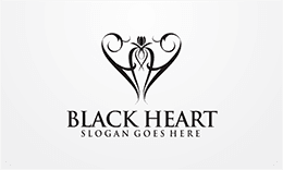Black Heart Logo