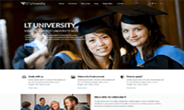 LT University – Responsive College / University Joomla Template