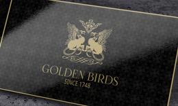 Golden Birds Business Card