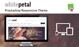WhitePetal - Prestashop Responsive Theme