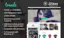 Tp Trendz - Responsive Joomla E-commerce Template