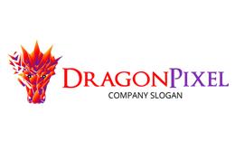 Dragon Pixel Logo
