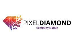 Pixel Diamond Logo