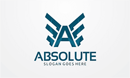 Absolute - Letter A Logo