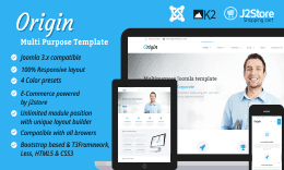 TP Origin - Responsive Joomla Multipurpose Template
