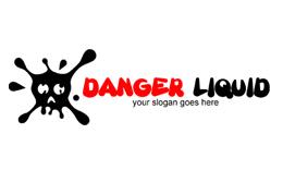 Danger Liquid Logo