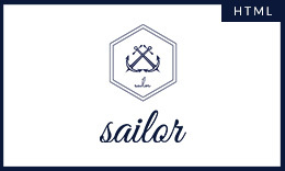 Sailor Creative Portfolio Template