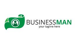 Business Man Logo